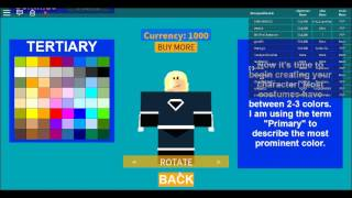 How To Make Black Canary On Super Hero Life (Roblox) POUR ZERO CURRENCY!