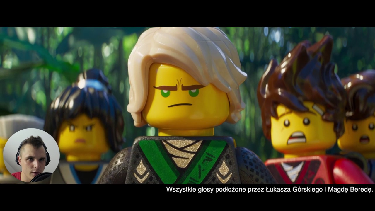 Lego Ninjago Film Zwiastun Fan Dubbing Pl Ft Magda Bereda Youtube