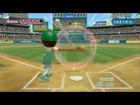 Wii Sports Club Baseball - Homer Hero - 17,424 Points (Gold Medal)