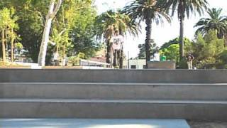 Matt Lemond at Hollenbeck Skate Plaza