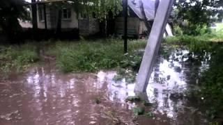 Потоп г.Лебедянь Липецкая область