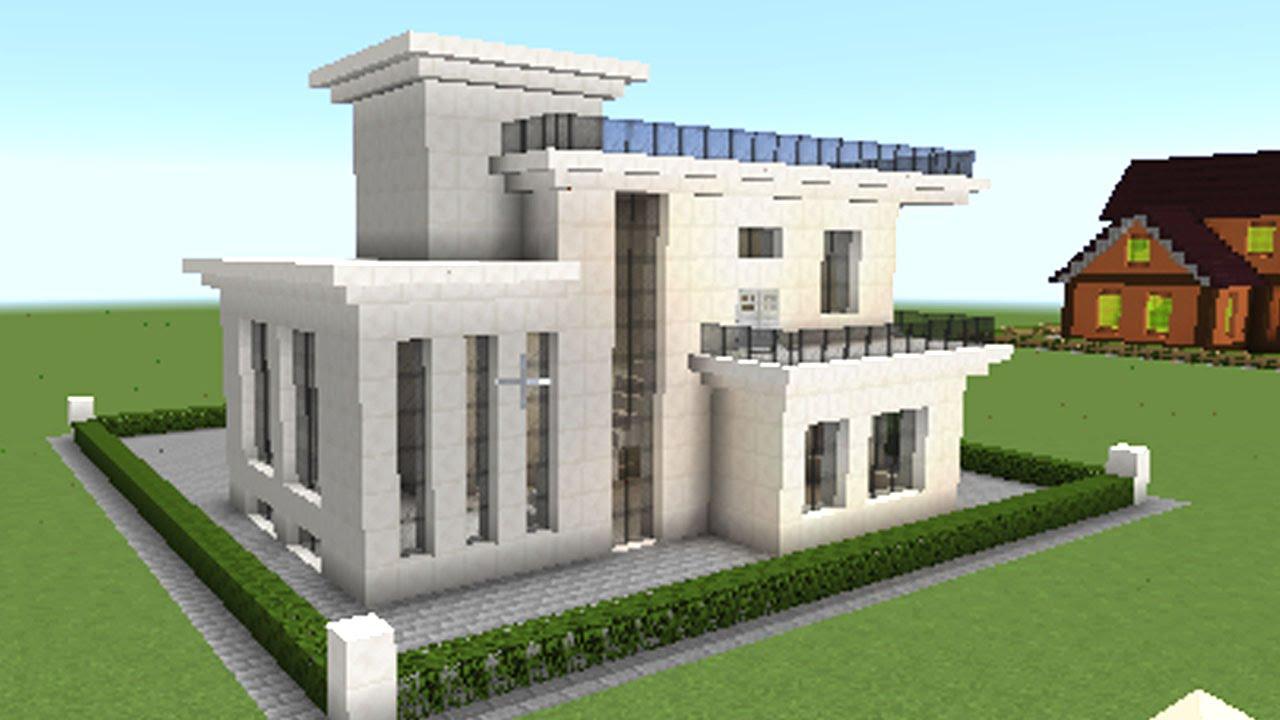 マインクラフト家の作り方 \u201cこの春プール付きの家を作ろう!\u201d PART 1