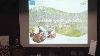 Kommenttipuheenvuoro - Timo Tolppa, Metsäkonepalvelu Oy