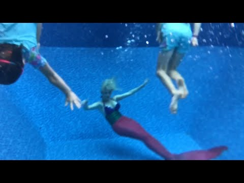 Thumbnail: How to swim with a mermaid - Z Sisters