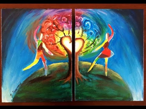 Latest How To Paint Love Abstract On Canvas Shanyus Art With Modern Paintings Of