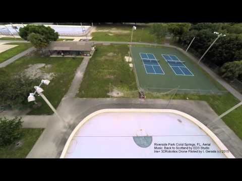Riverside Park Coral Springs Aerial Flying