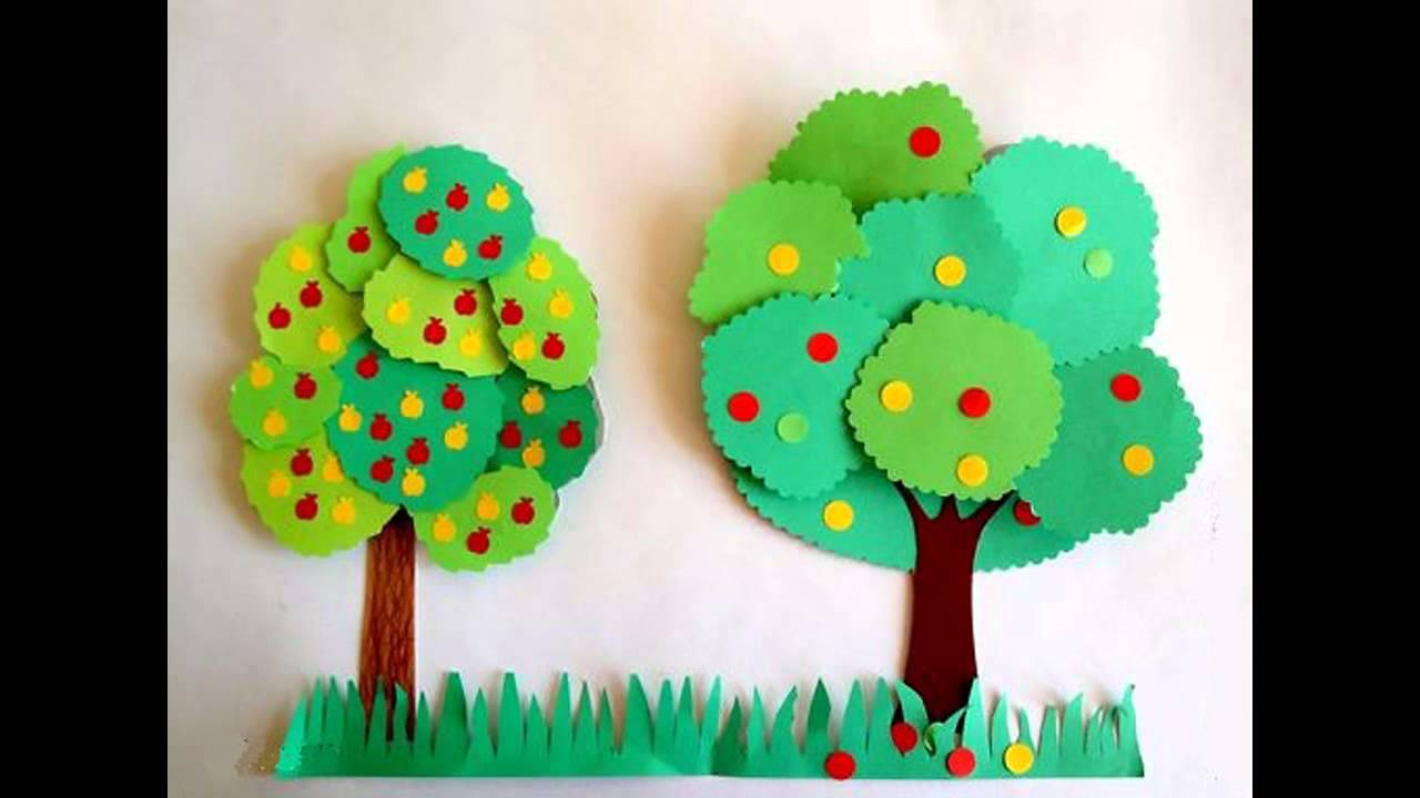 Construction Paper Crafts Project Ideas For Kids