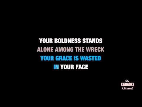 """Little Lion Man in the Style of """"Mumford & Sons"""" karaoke video with lyrics (no lead vocal)"""