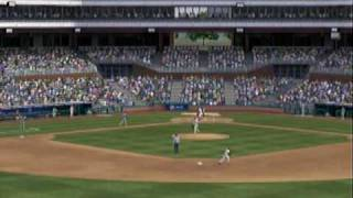 MLB 2k9 (Xbox 360) Gameplay Phillies vs. Rays