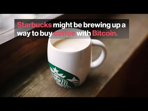 Buying Starbucks With Bitcoin Moves Closer To Reality