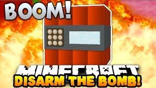 Minecraft DISARM THE BOMB OR DIE!... (Epic Custom Map) w/PrestonPlayz
