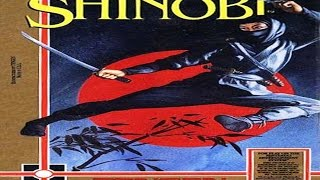 Shinobi [TENGEN] (Unlicensed) - NES Longplay - NO DEATH / NO MISS RUN (FULL GAMEPLAY)