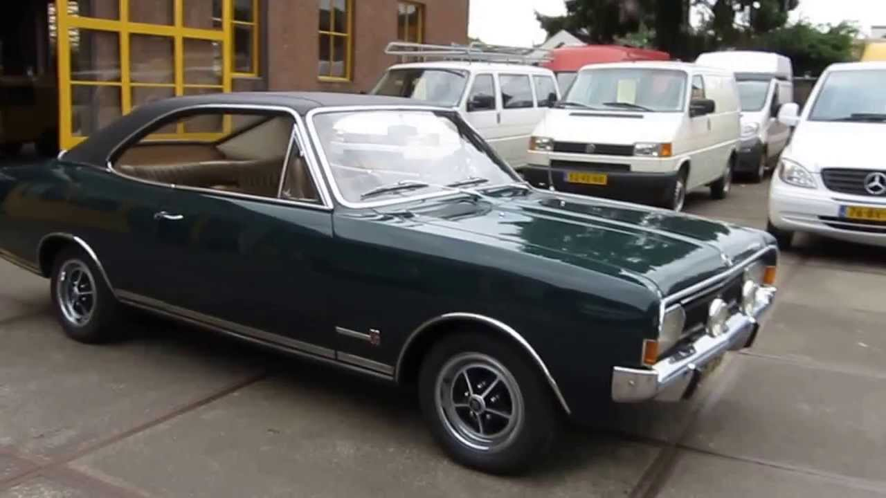 opel commodore gs coupe 1969 36 youtube. Black Bedroom Furniture Sets. Home Design Ideas