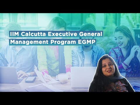 STL Academy IIM Calcutta Executive General Management Program EGMP