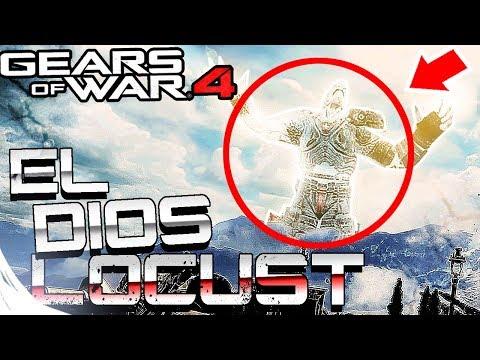 GEARS OF WAR 4 - EL DIOS DE LOS LOCUST | EASTER EGG PROHIBIDO