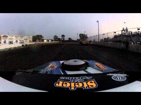 "Fairmont Raceway 2012 IMCA Sportmod ""The night the lights went out"" GoPro Camera"