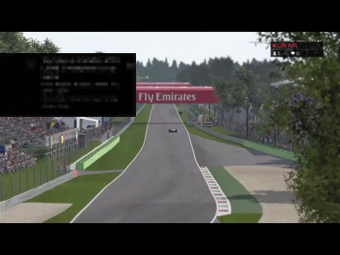 Project 4 F1 championship live from monza
