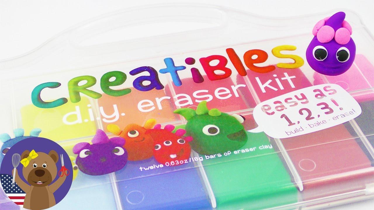 Diy erasers cool creatibles set 12 colors diy idea youtube diy erasers cool creatibles set 12 colors diy idea solutioingenieria Image collections