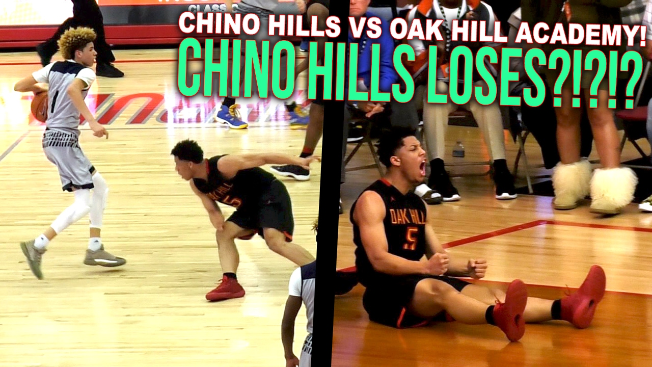Lonzo Ball's LAST High School Game! SAVES State Title ...