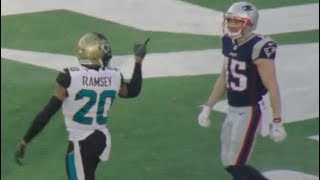 Jalen Ramsey Mic'd Up vs Patriots in AFC Championship Game