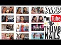HOW TO MAKE YOUTUBE THUMBNAILS USING iPHONE! | Ronni Rae