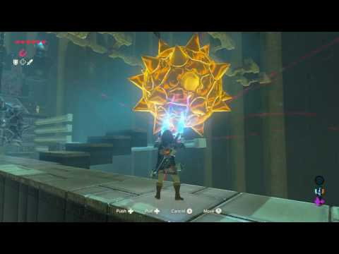 Zelda Breath Of the Wild - Mogg Latan Shrine (All chests)