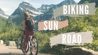 Biking Going to the Sun Road 2018