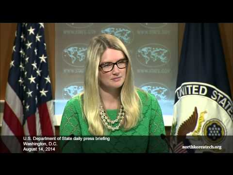 North Korea questions at State Dept. briefing, August 14, 2014