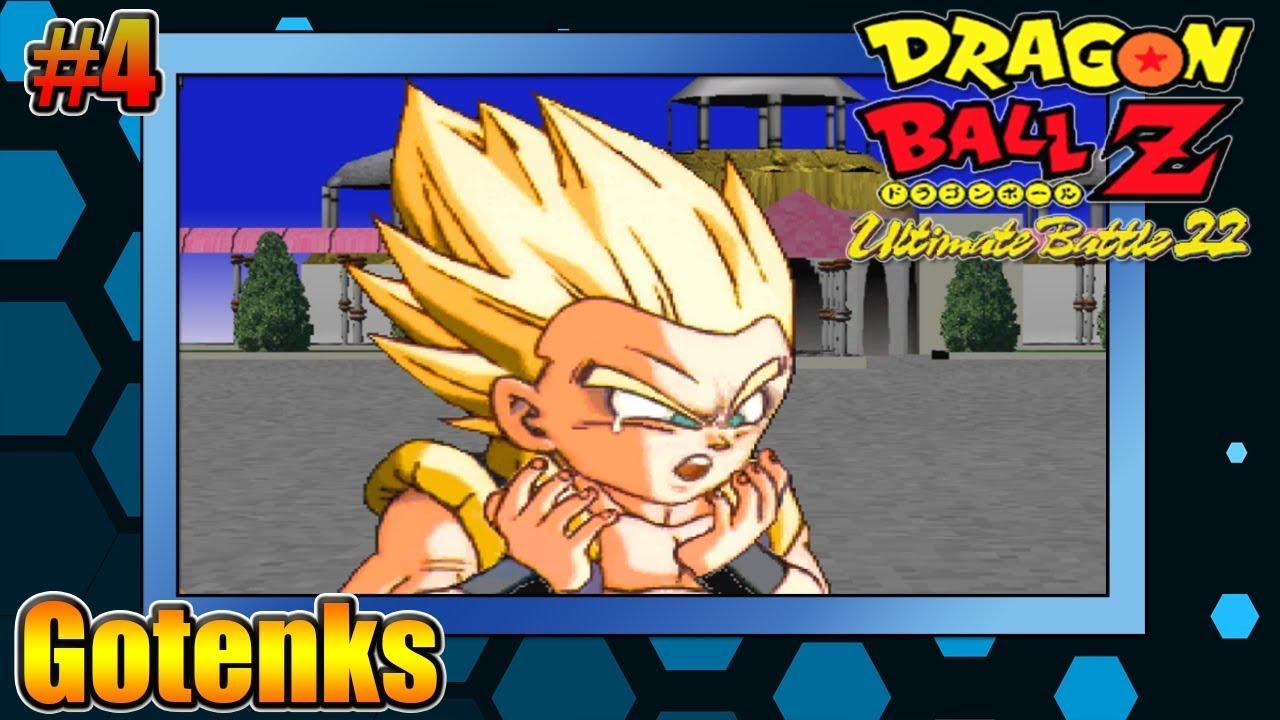Dragon Ball Z Ultimate Battle 22 Ps1 4 Gotenks Accel