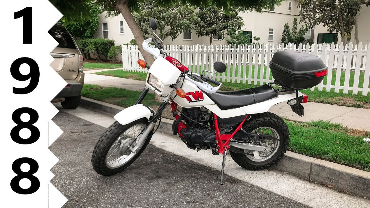First Ride  1988 Yamaha Tw200 Dual Sport