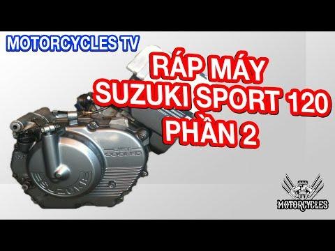 Video 48: Phần 2 Dạy Sửa Xe Hướng Dẫn Ráp Máy Suzuki Sport 120 Dên Bộ Số   Motorcycles TV