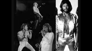 Barry Gibb and Andy Gibb