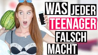 ALLTÄGLICHE DINGE DIE JEDER TEENAGER FALSCH MACHT! | LaurenCocoXO