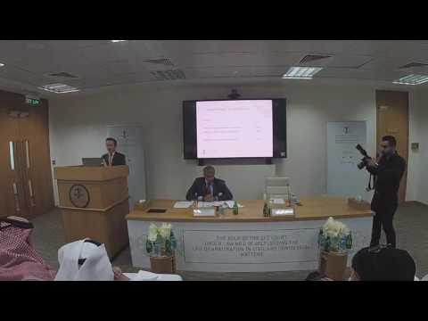 Christopher Grout - QICDRC Seminar on New Qatar Arbitration Law No. 2 of 2017