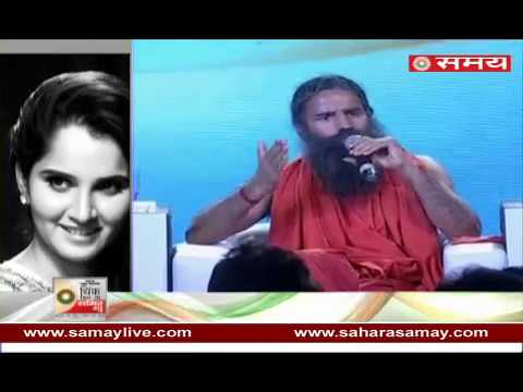 Baba Ramdev was at his zestful best at SNN's 'Think With Me' Summit