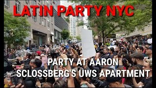 Latin Party NYC - Party At Aaron Schlossberg's UWS Apartment | Hablemos Espanol