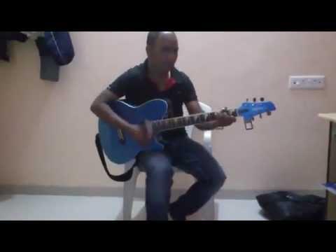 Papa Kahte Hain Bada Naam Karega On Guitar Chords4 Youtube