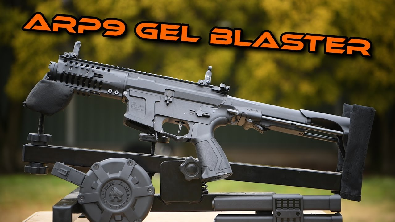 Download XYL ARP9 Gel Ball Blaster Tested!