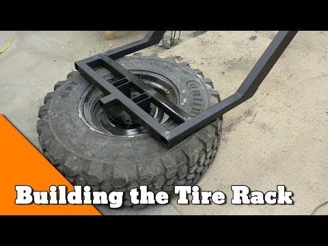 Building a Tire Carrier and Drive Line Repairs - How to Build an Overlander