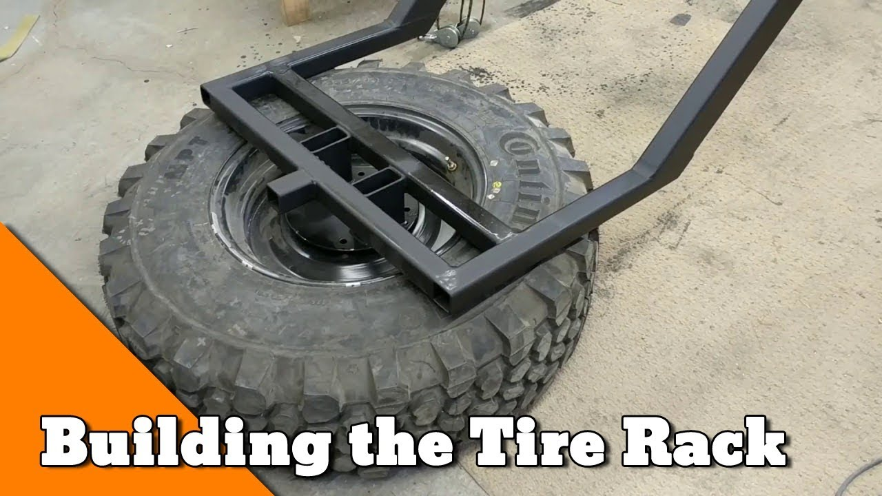 Building a Tire Carrier and Drive Line Repairs - How to ...