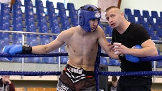 Dariusz Fedor (Bialski Klub Karate) - Patryk Bielewicz (Fight Academy Ostrołęka)