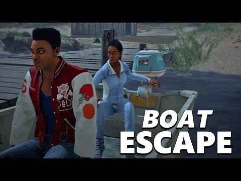 Friday the 13th the game - Boat escape and no collision glitch