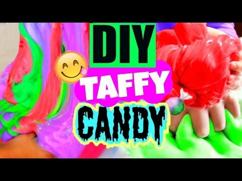 DIY Taffy Candy! Squishy Slimy Candy DIY!