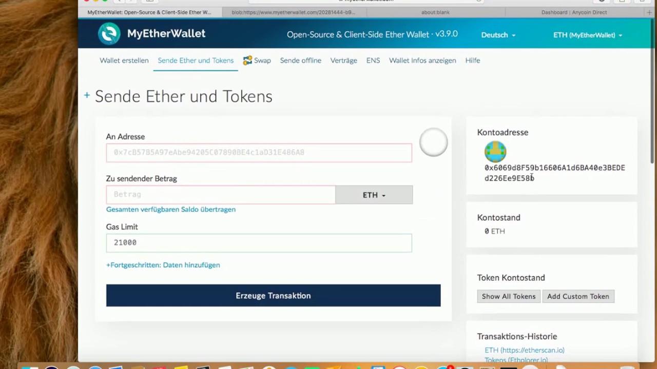 Ether Wallet Erstellen