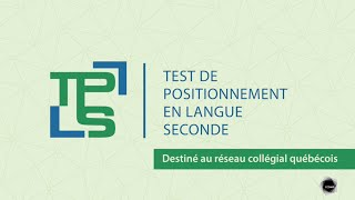 Test de positionnement en langue seconde (TPLS)