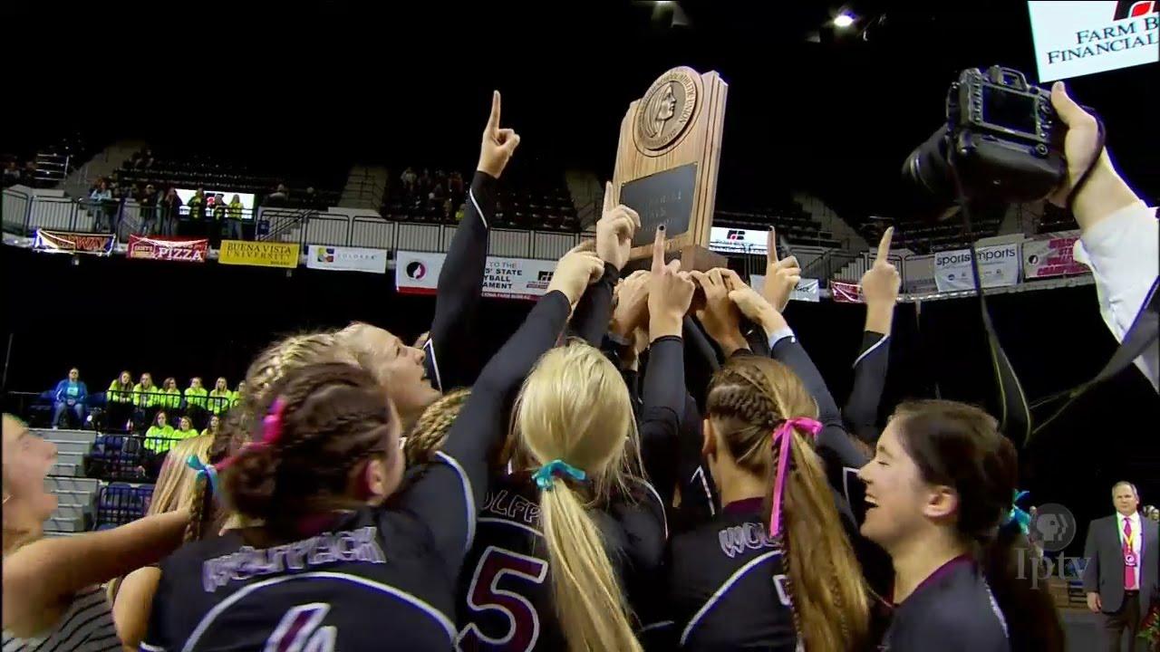 (2A) 2015 IGHSAU Iowa Farm Bureau Girls State Volleyball ...
