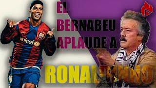 🔥⚽  👏 Y EL BERNABEU APLAUDIÓ A RONALDINHO 👏 || Real Madrid 0 - 3 Barcelona || 2020