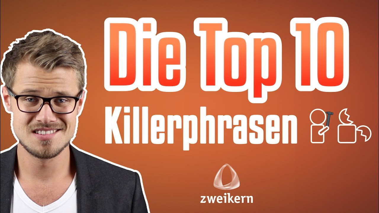 die top 10 killerphrasen die keiner mehr h ren kann cyw youtube. Black Bedroom Furniture Sets. Home Design Ideas