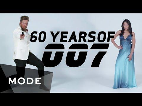 Evolution of James Bond 007  w/ Hunter Pence ★ Mode.com