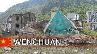China by Motorcycle: Wenchuan, Sichuan